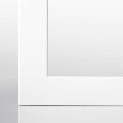 Bilderrahmen (A3) in Weiß (matt) mit Acrylglas (3cm Rahmenleiste)
