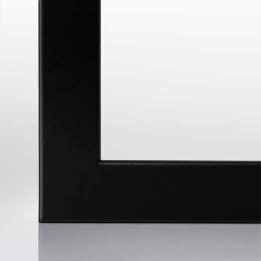 Bilderrahmen (A2) in Schwarz (matt) mit Acrylglas (3cm Rahmenleiste)
