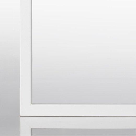 Schmaler Bilderrahmen(A3) in Weiß (matt) mit Acrylglas